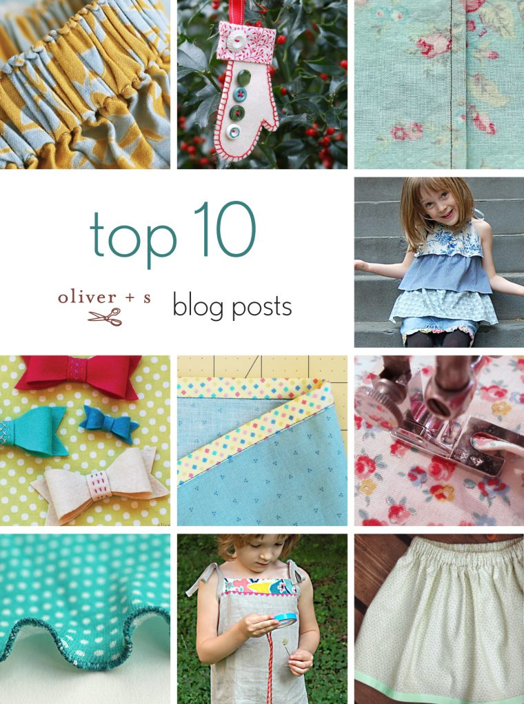 Top 10 Oliver + S blog posts