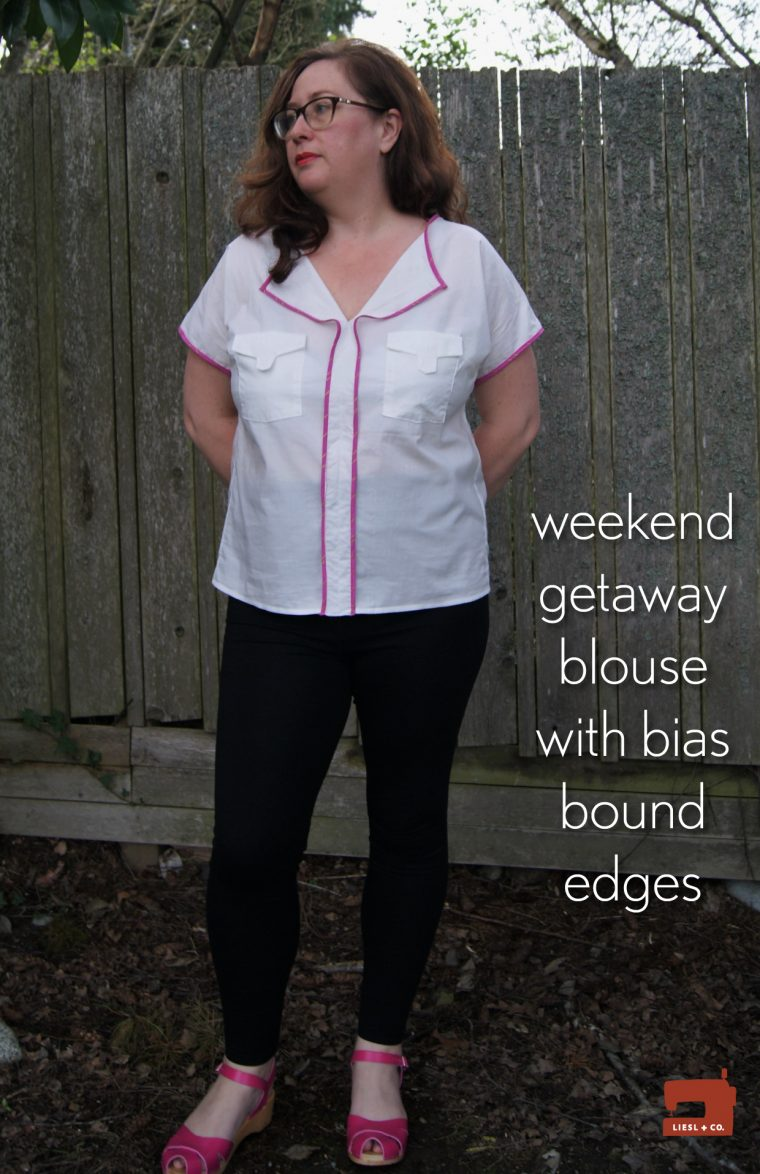 Liesl + Co. Weekend Getaway Blouse