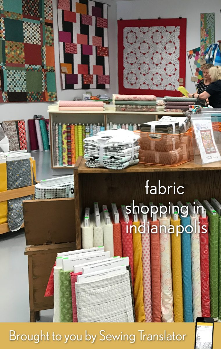 Indianapolis fabric shopping