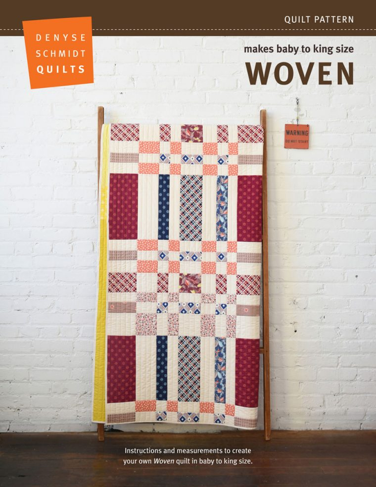 Woven quilt pattern by Denyse Schmidt Quilts
