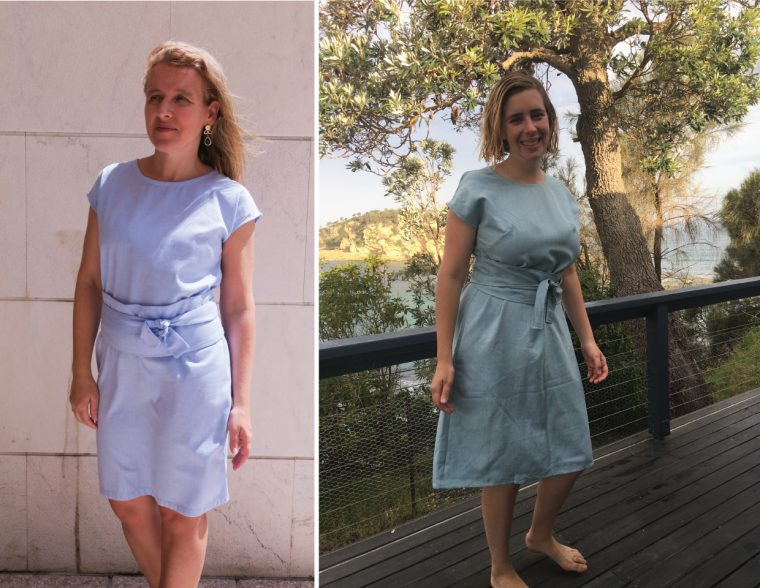some of our testers' Liesl + Co Terrace Dresses