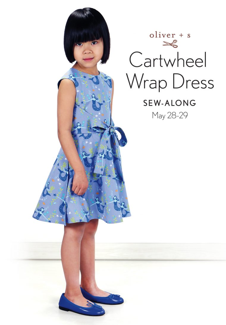Oliver + S Cartwheel Wrap Dress