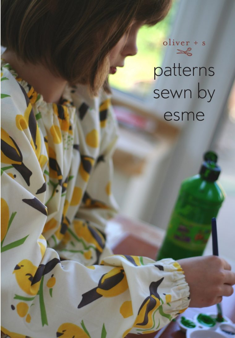 Art Smock from Oliver + S Little Things to Sew