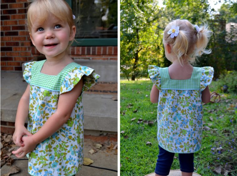 Modified Oliver + S Popover Sundress