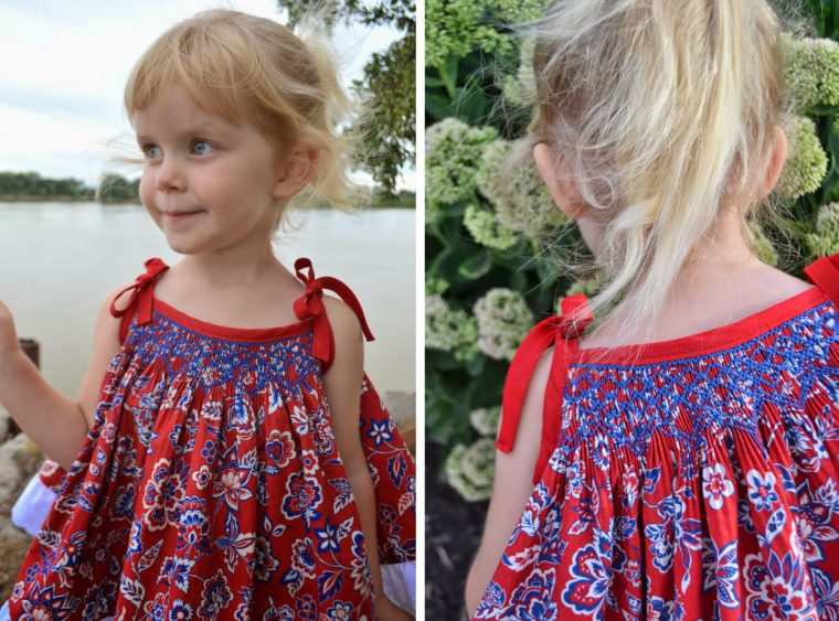 Oliver + S Popover Sundress with smocking