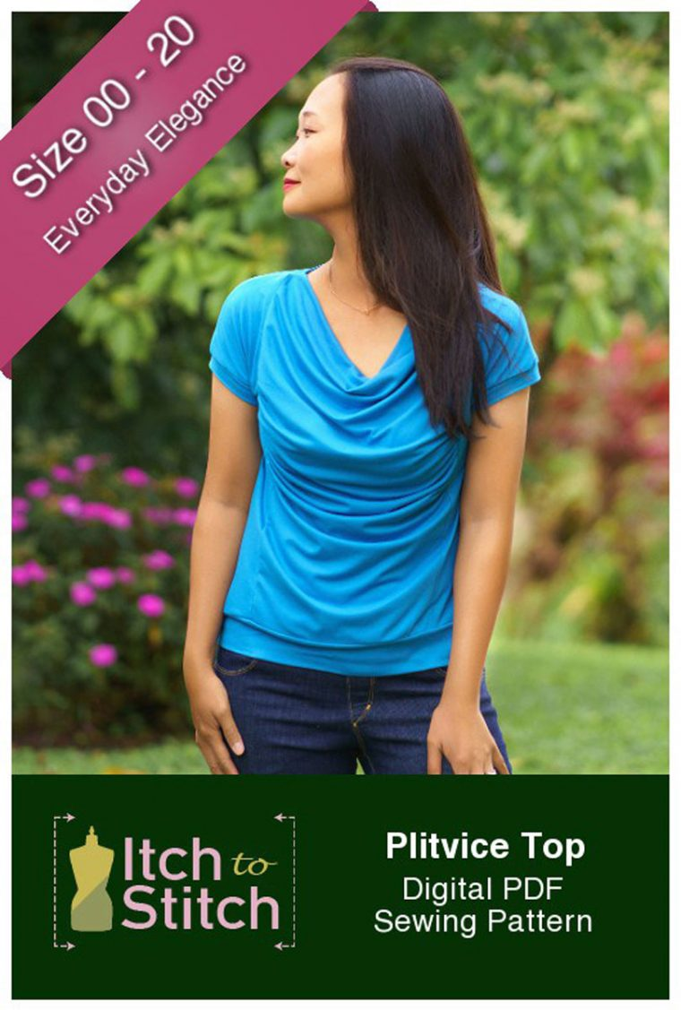 Plitvice Top Sewing Pattern
