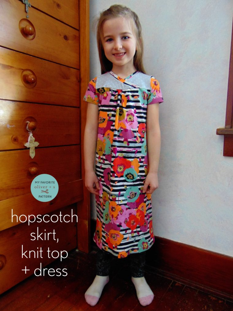 Oliver + S Hopscotch Knit Dress