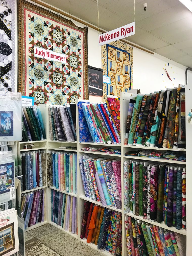 Phoenix fabric shopping