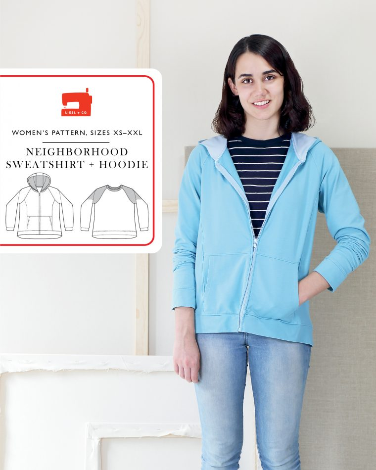 Neighborhood Sweatshirt + Hoodie pattern