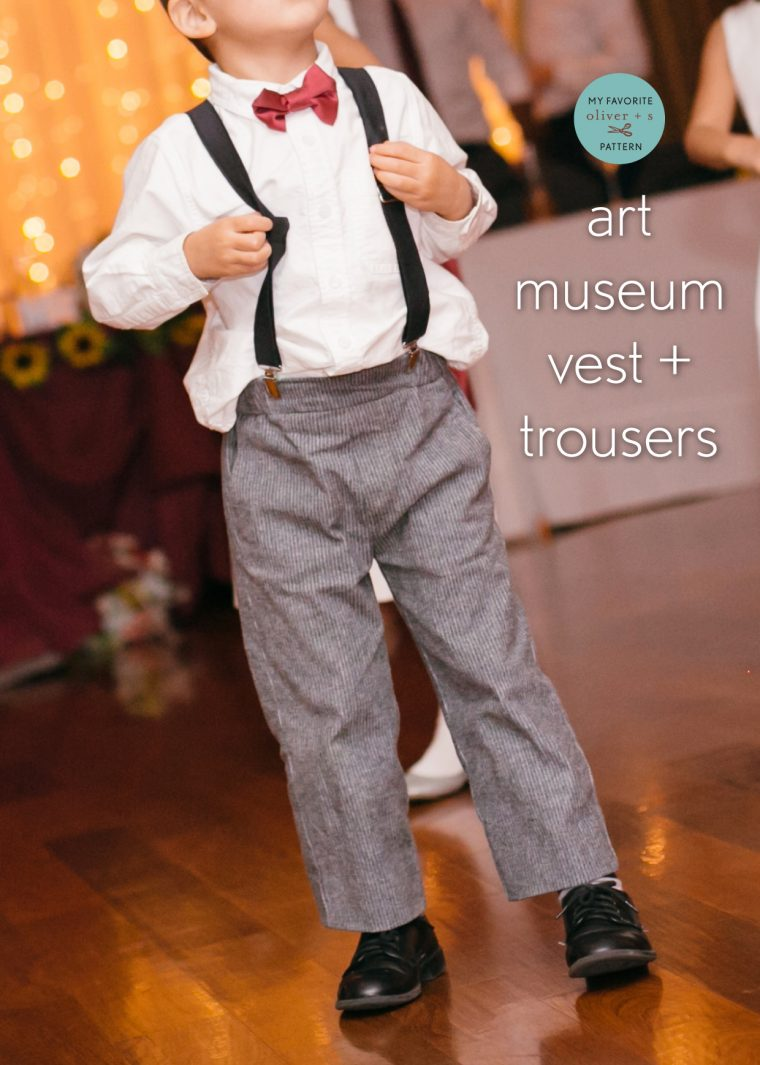 Oliver + S Art Museum Trousers