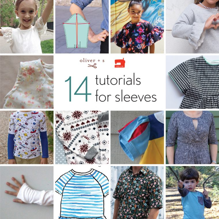 14 sleeve tutorials