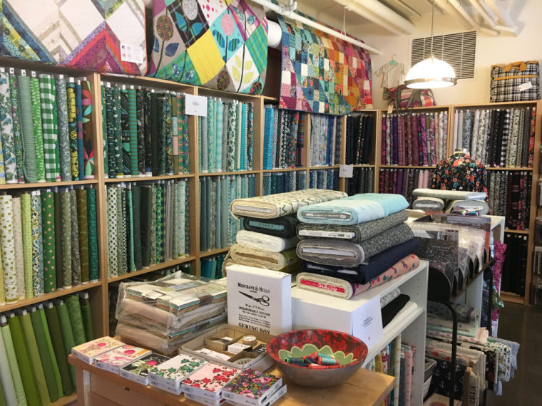 Nashville fabric shopping