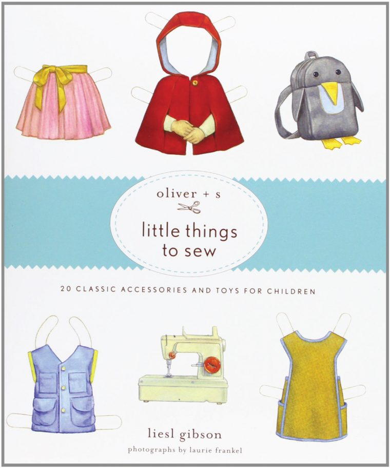 Oliver + S Little Things to Sew book cover