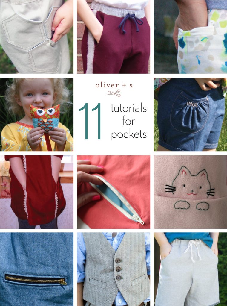 11 tutorials for pockets