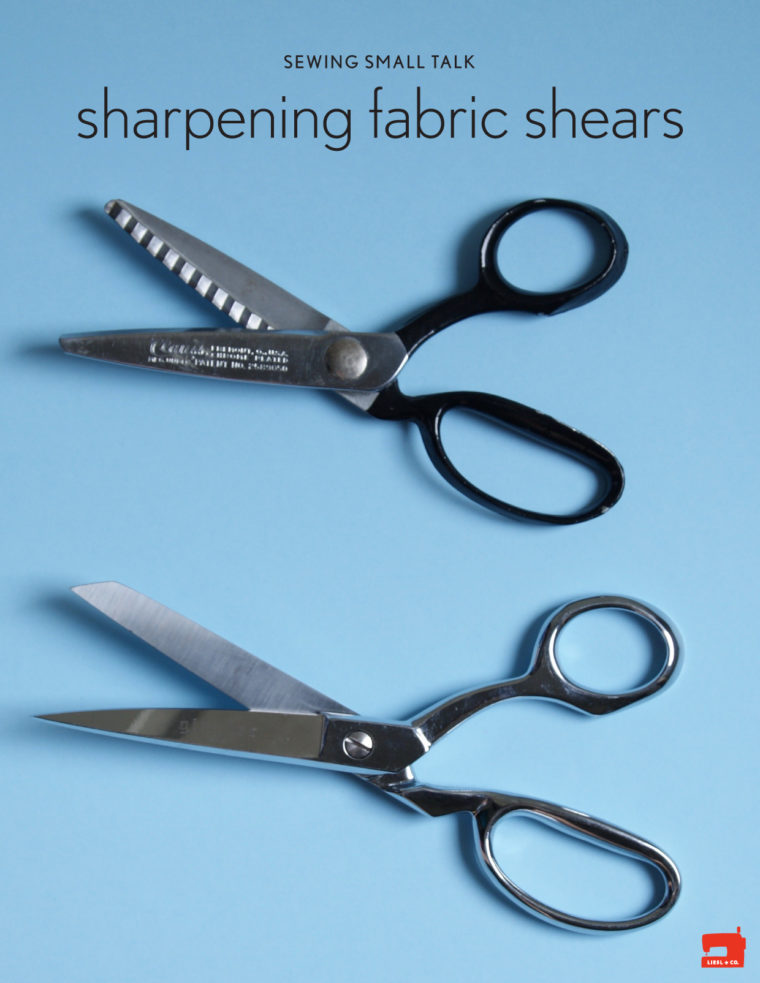sharpening fabric shears