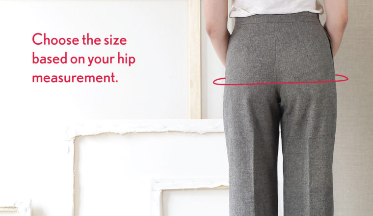 choose the size based on your hip measurement