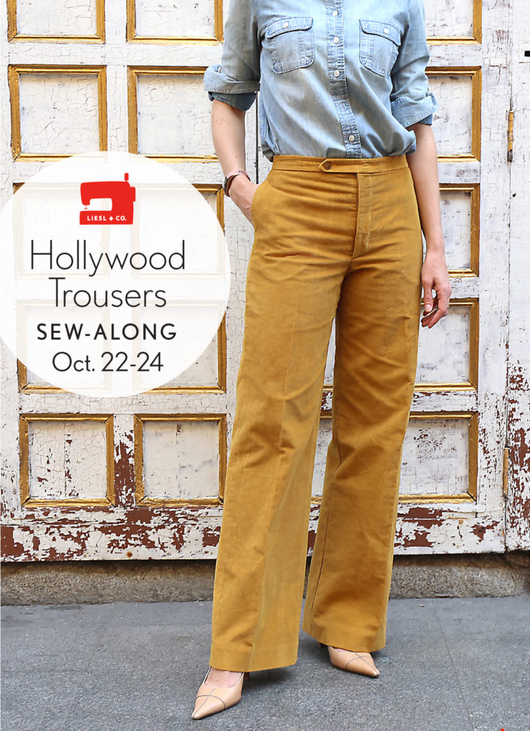 Are you ready for our Hollywood Trousers sew-along?