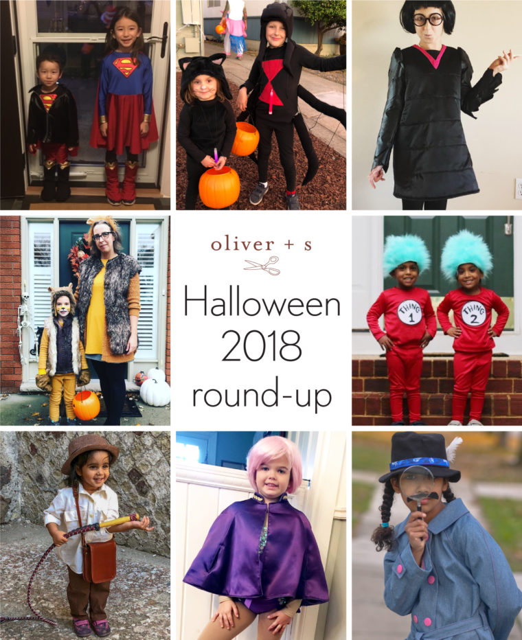 Oliver + S Halloween costumes