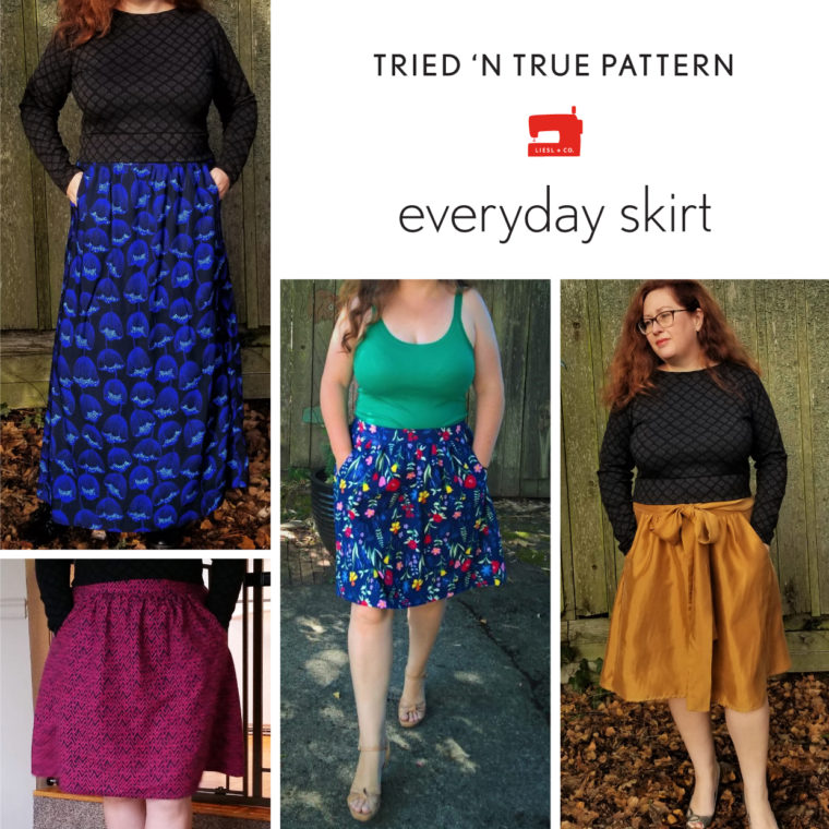 Tried and true: Liesl + Co. Everyday Skirt