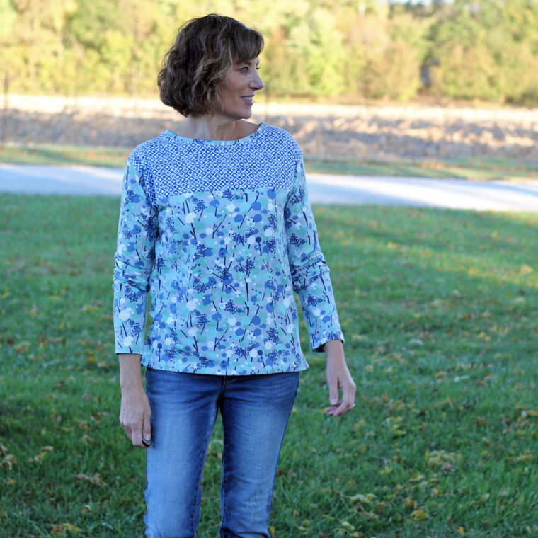 Liesl + Co. Maritime Knit Top