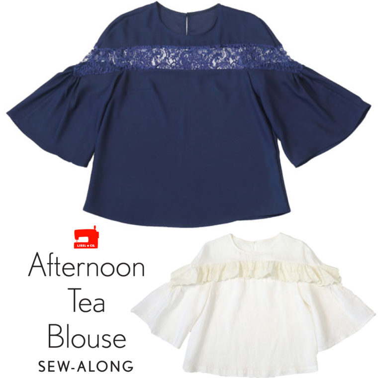 Afternoon Tea Blouse Sew-Along