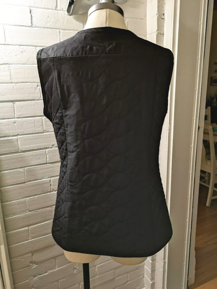 Quilted inner lining