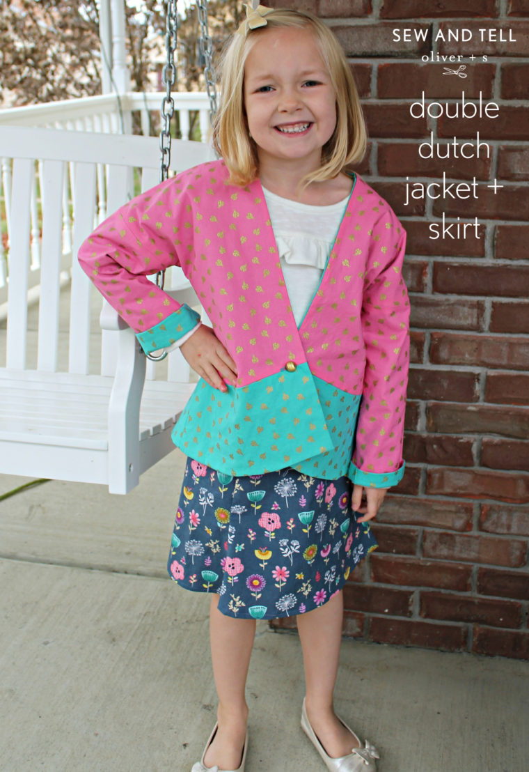 Oliver + S Double Dutch Jacket + Skirt