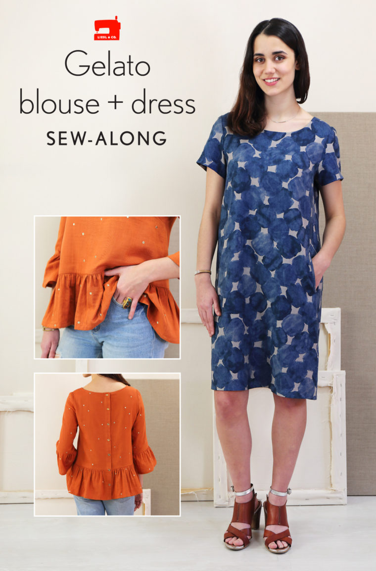 Liesl + Co. Gelato Blouse + Dress