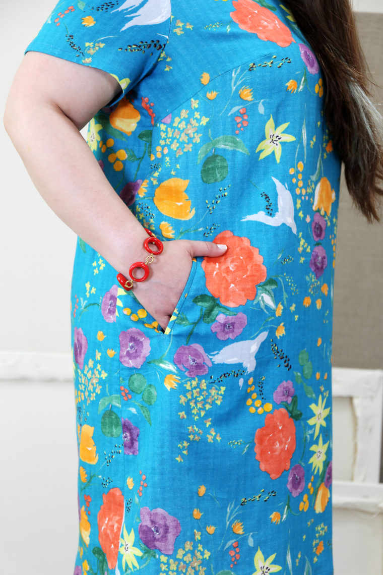 Gelato Dress pocket detail