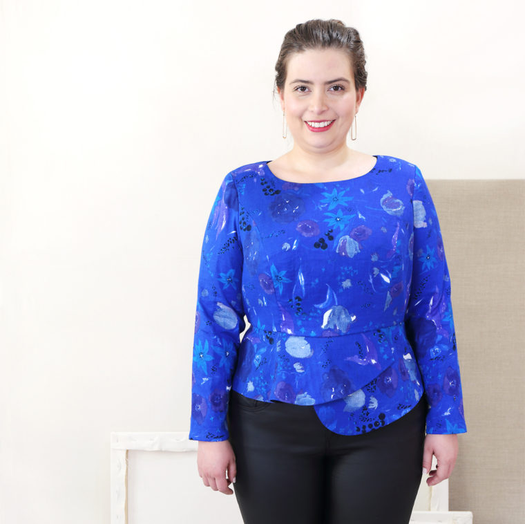 Rush Hour Blouse in sizes 16-30
