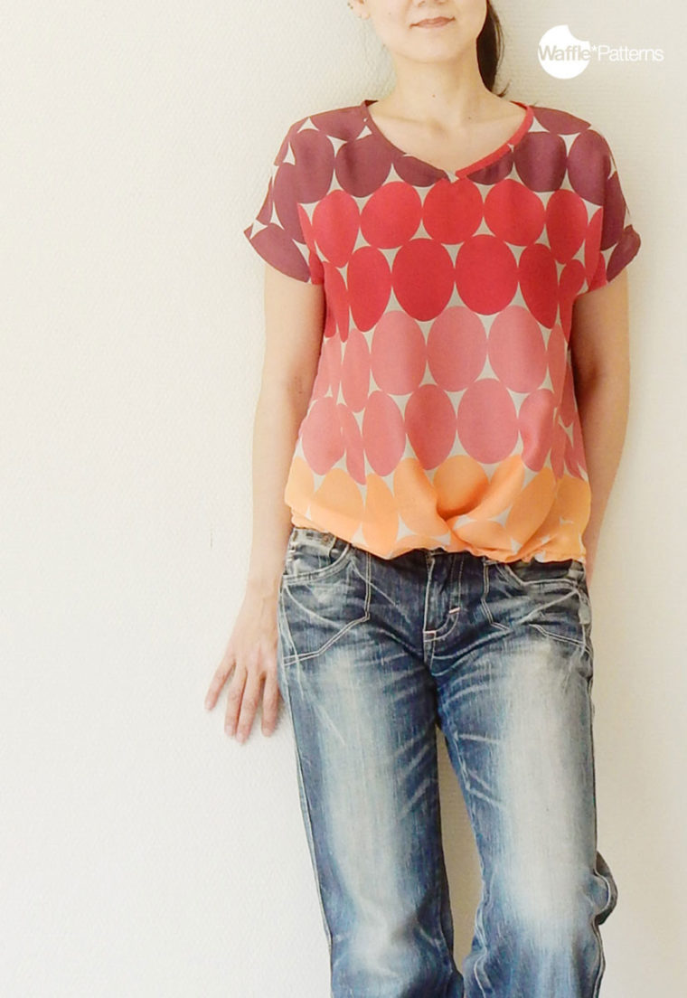 Lychee Pleated T'Shirt