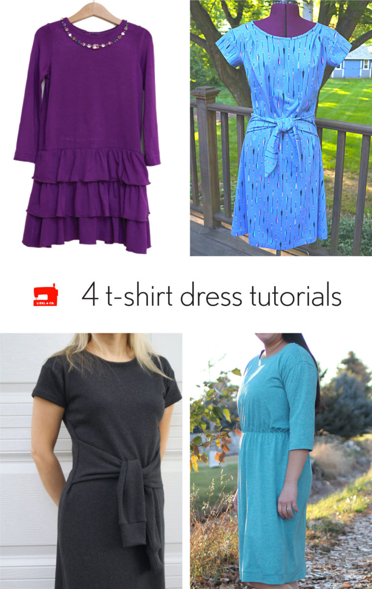4 T-shirt Dress Tutorials