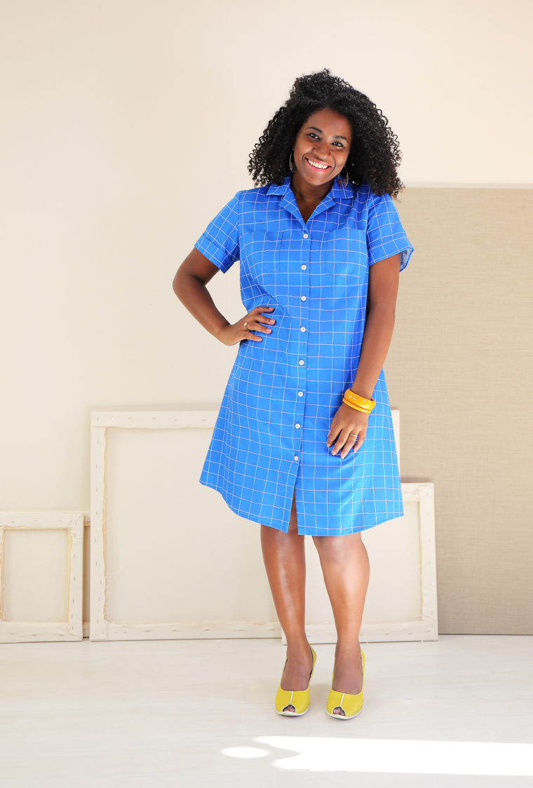 Liesl + Co Camp Shirt + Dress sewing pattern