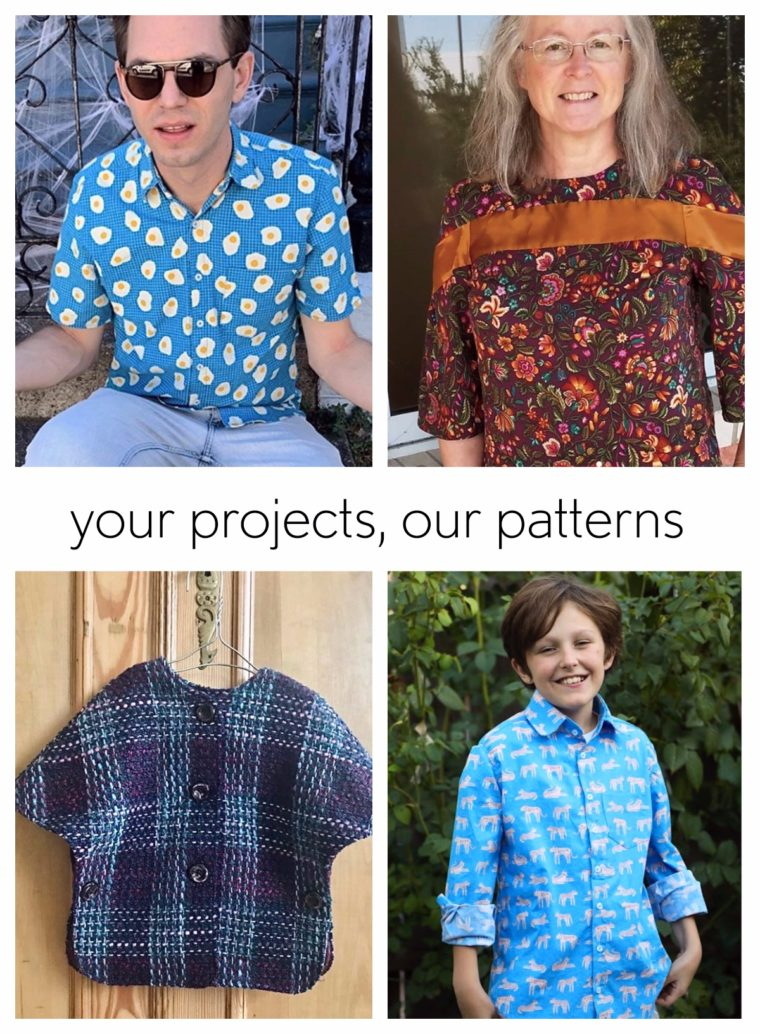 Projects sewn from Oliver + S and Liesl + Co patterns.