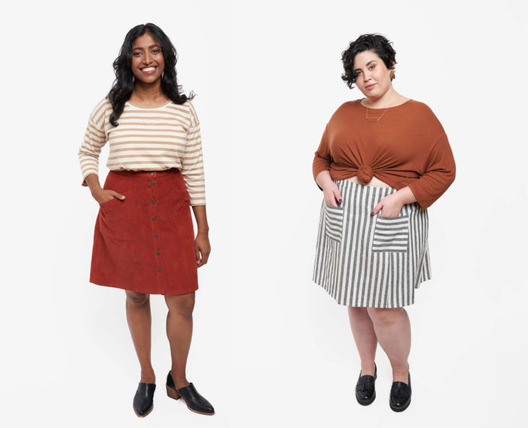 Reed Skirt from Grainline Studio
