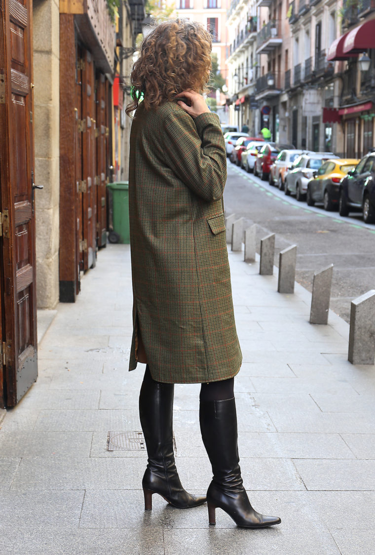 Liesl's wool tweed Chaval Coat