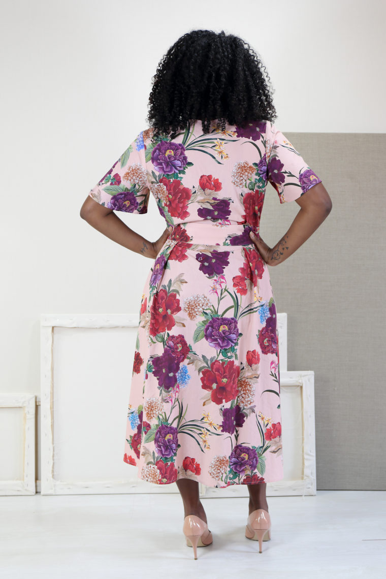Liesl + Co Saint Germain Wrap Dress