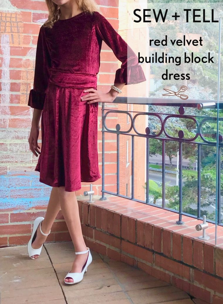Design your own girls' dress with the Building Block Dress Book.