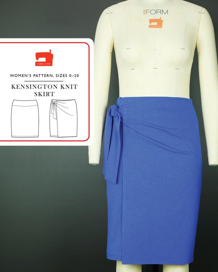 Liesl + Co Kensington Knit Skirt sewing pattern
