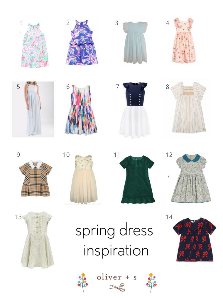 Easter dress inspiration with Oliver + S.