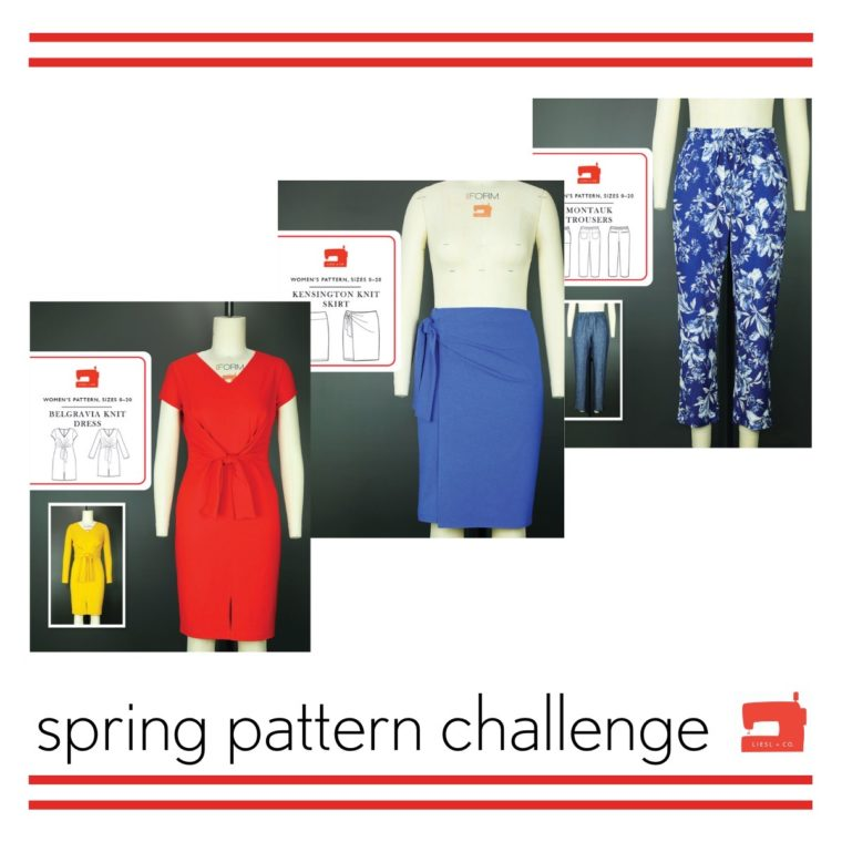 Take the spring pattern challenge and win two free patterns!