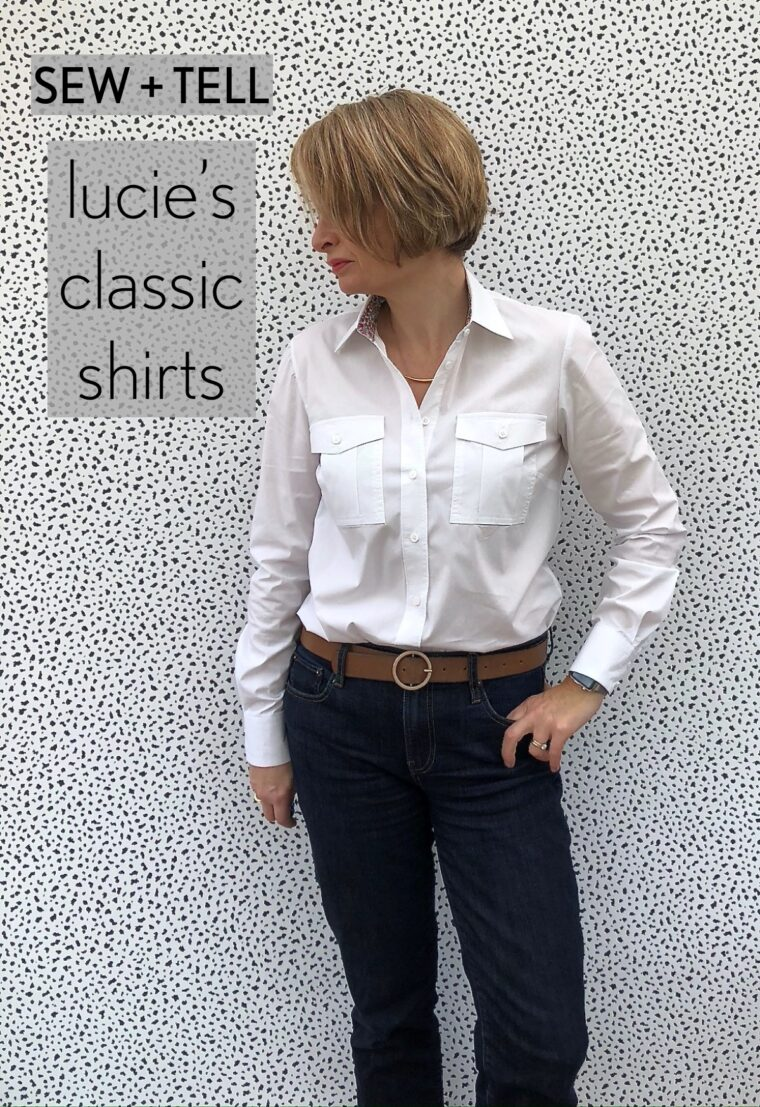Lucie has sewn six shirt patterns and named the Liesl + Co. Classic Shirt the winner.
