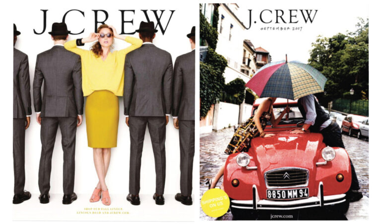 J. Crew catalog covers