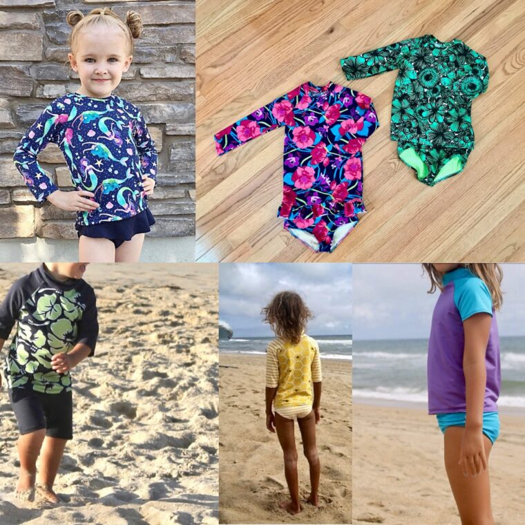 Wondering how to sew swimwear for kids? Look no further.