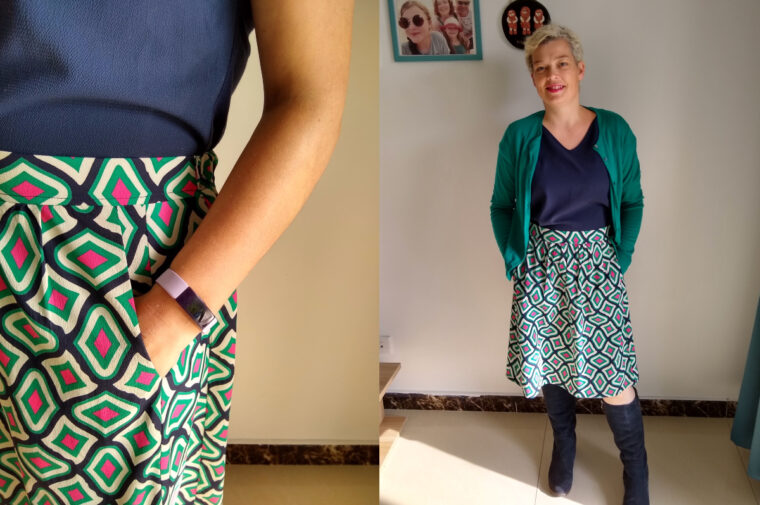 The Everyday Skirt is the perfect sewing pattern to jumpstart your DIY wardrobe.