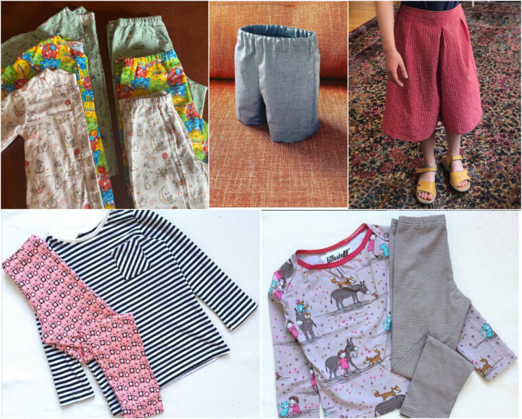 Make beautiful custom DIY clothing for kids and adults with our patterns.