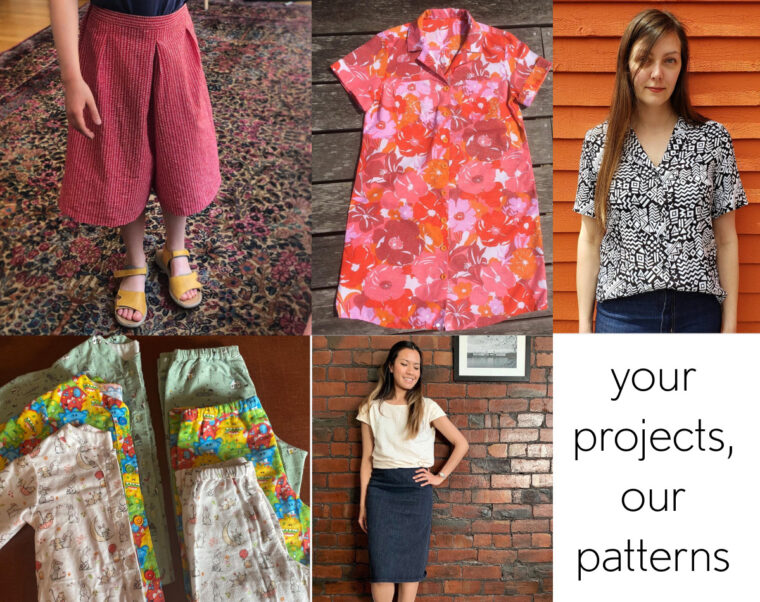 Learn to sew your own clothes with our easy to follow, step-by-step pattern instructions.