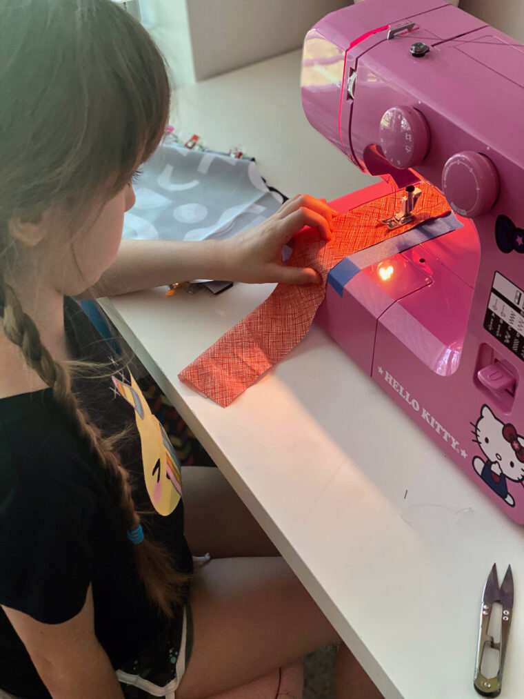 If you're wondering how to teach a child to sew, you've come to the right place.