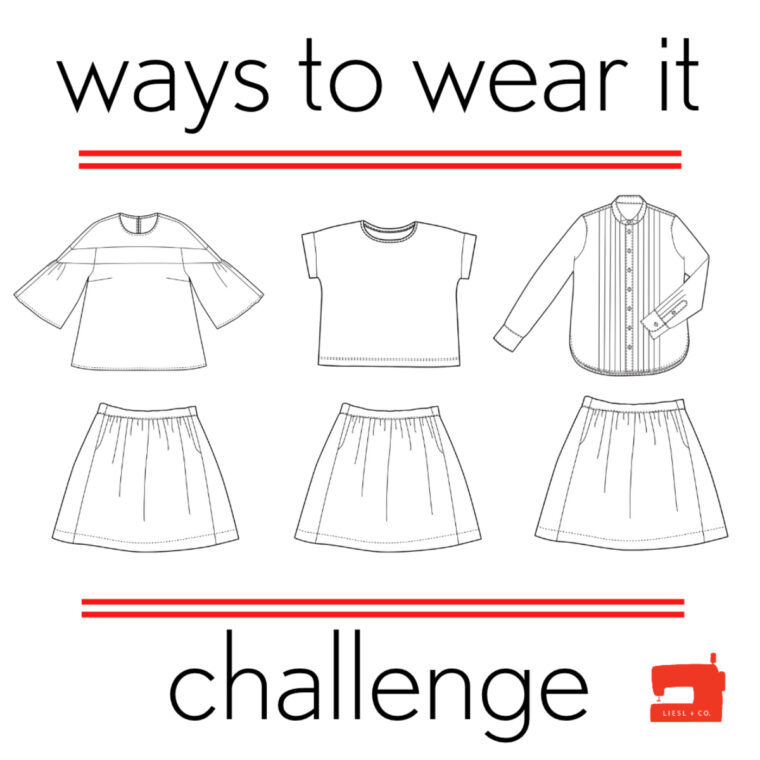 Want to get more wear out of your clothes? Join the Ways to Wear It challenge!