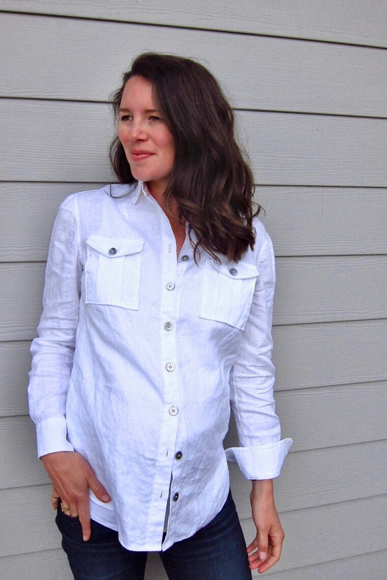 Fitting the Classic Shirt: Lauren walks you through her alterations.
